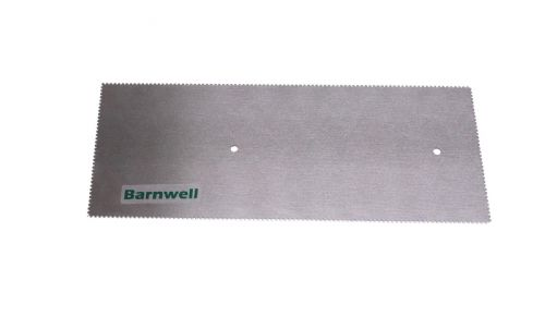 Barnwell 1.5mm Notched Adhesive Trowel Blade x 1